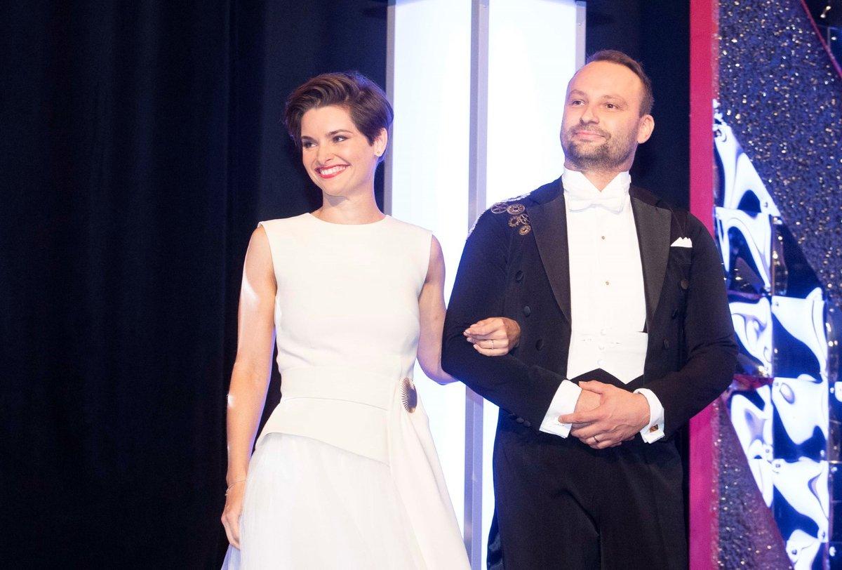 Tisková konference ke StarDance: Farářka Martina Viktorie Kopecká a Marek Dědík
