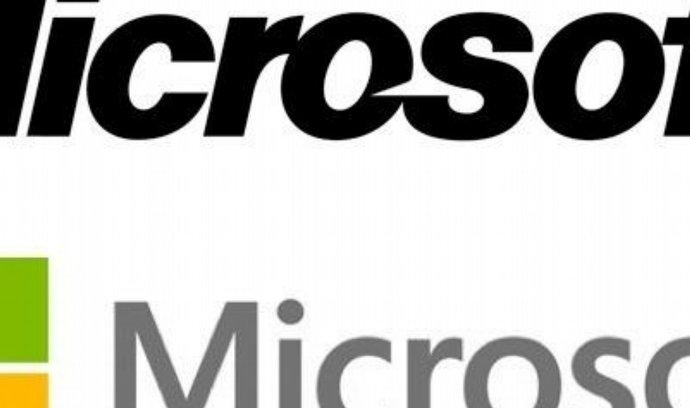 Staré a nové logo Microsoftu