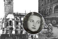 Hrdinka Marie Dubská slaví 100 let. Staroměstskou radnici bránila před nacisty, málem při tom uhořela