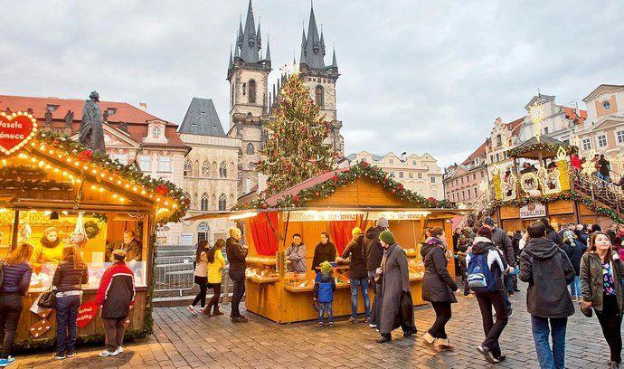 Staroměstské náměstí, vánoční trhy