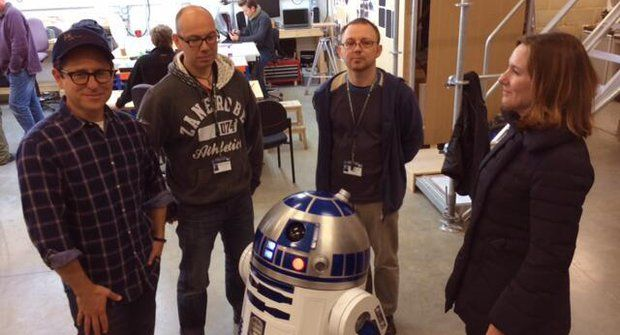 První fotka ze zákulisí natáčení Star Wars VII