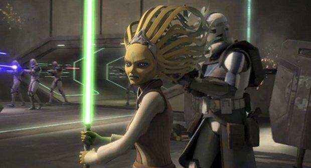 Hvězdná upoutávka na poslední sérii Star Wars: Klonových válek