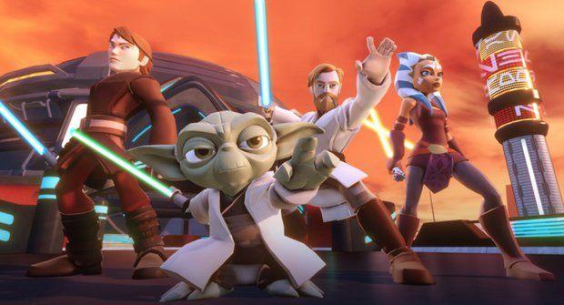 Galerie: Hra Star Wars Disney Infinity má lesk