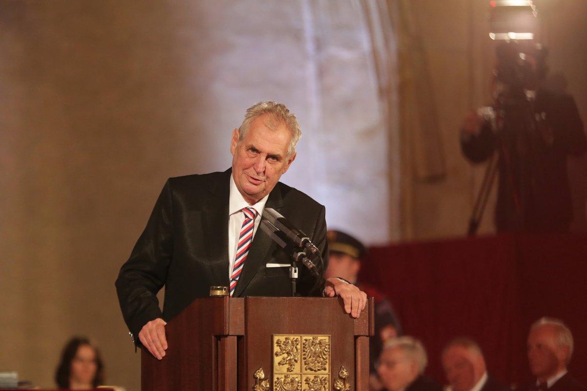 prezidenta Miloše Zemana