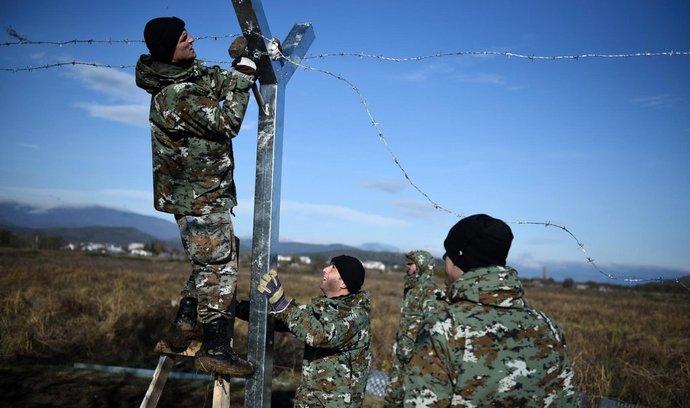 Stavba plotu na hranicích (ilustrační foto)