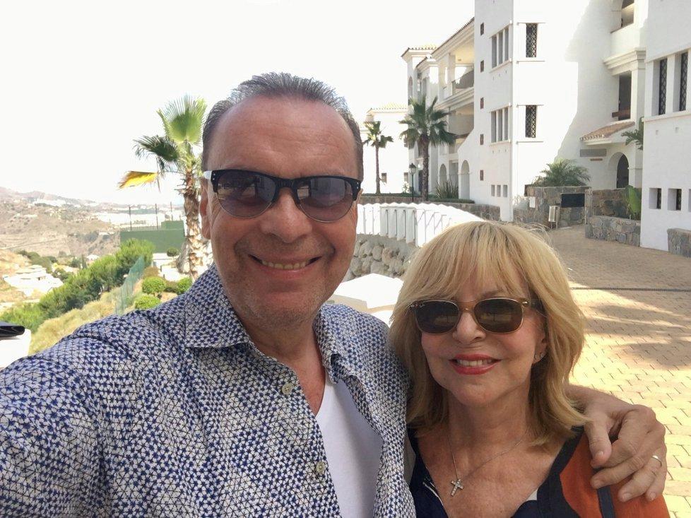 Štefan Margita a Hana Zagorová si pořídili apartmán v Malaze.