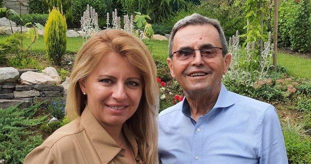 El padre de Čaputová murió después de una pelea con una enfermedad grave († 79).  Ella describió cómo contuvo las lágrimas