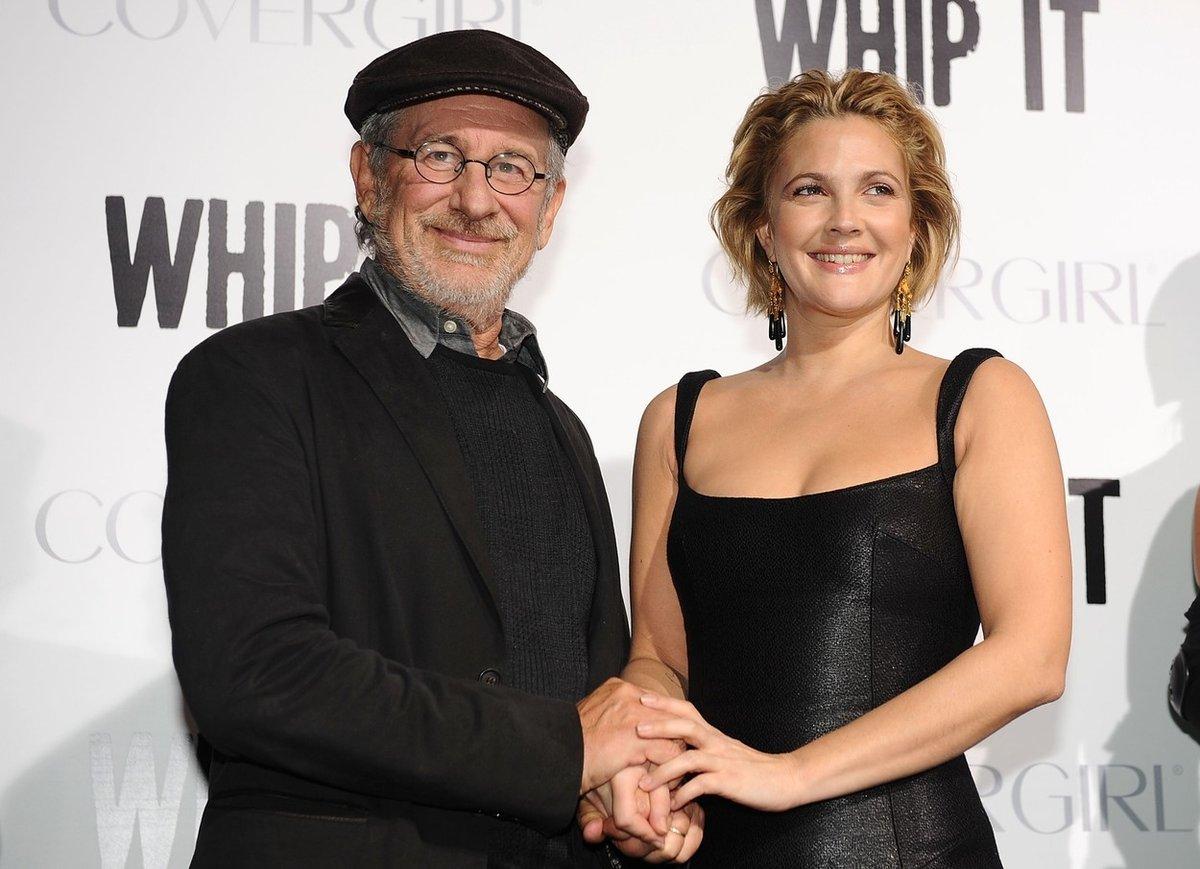 Steven Spielberg je kmotrem herečky Drew Barrymore
