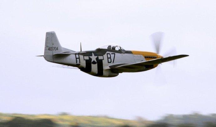 Stíhačka P-51 Mustang