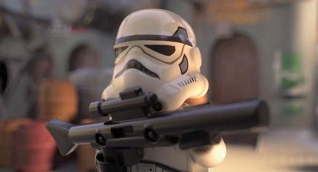 "LEGO Star Wars: Začni se seriálem vtípků z ""jedné galaxie"""