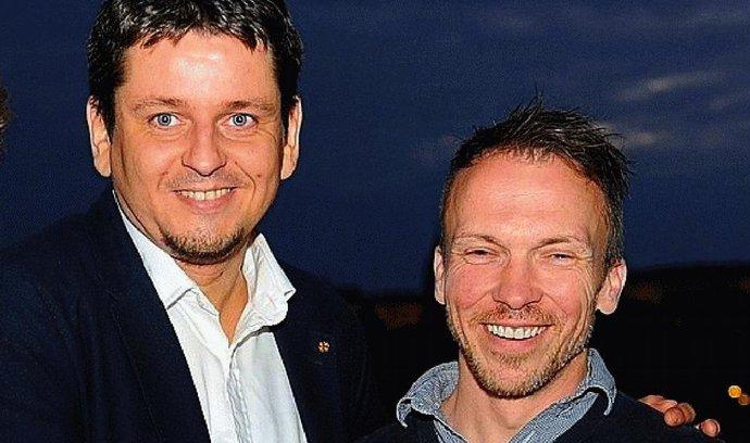 Střídání na pozici marketingového ředitele v Kofole: Jiří Vlasák (vlevo) odchází do Polska, na jeho místo postoupil Karel Hrbek