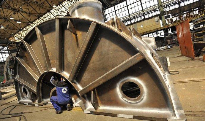 Strojírna Královopolská letos v prvním pololetí 2012 zvýšila tržby o 11 procent na 357 milionů korun.