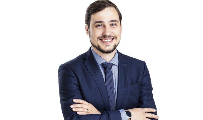 Hlavní ekonom Platební instituce Roger Dominik Stroukal.