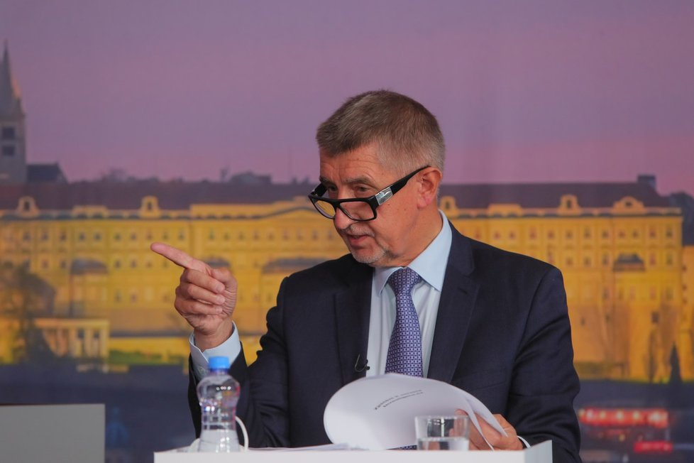 Superdebata Blesku (7. 10. 2021): Andrej Babiš (ANO)