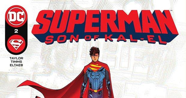 Superman je v novém komiksu bisexuálem.