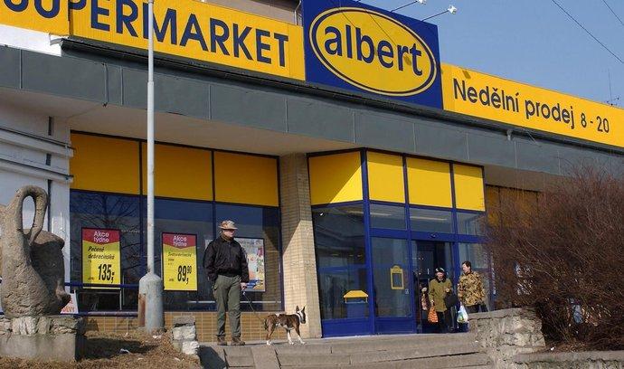 Supermarket Albert v Praze.