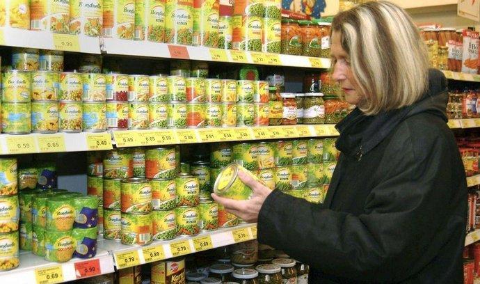 Supermarket - ilustrační foto