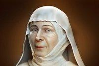 Takhle vypadala svatá Ludmila! Vědci po 1100 letech zrekonstruovali její obličej. Co odhalili?