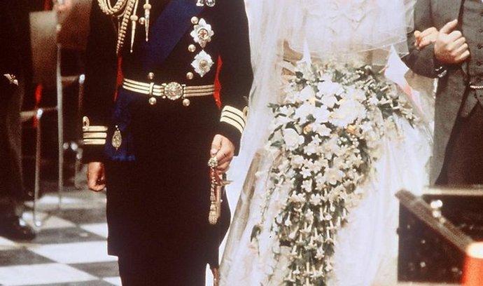 Svatba princezny Diany a následníka britského trůnu prince Charlese