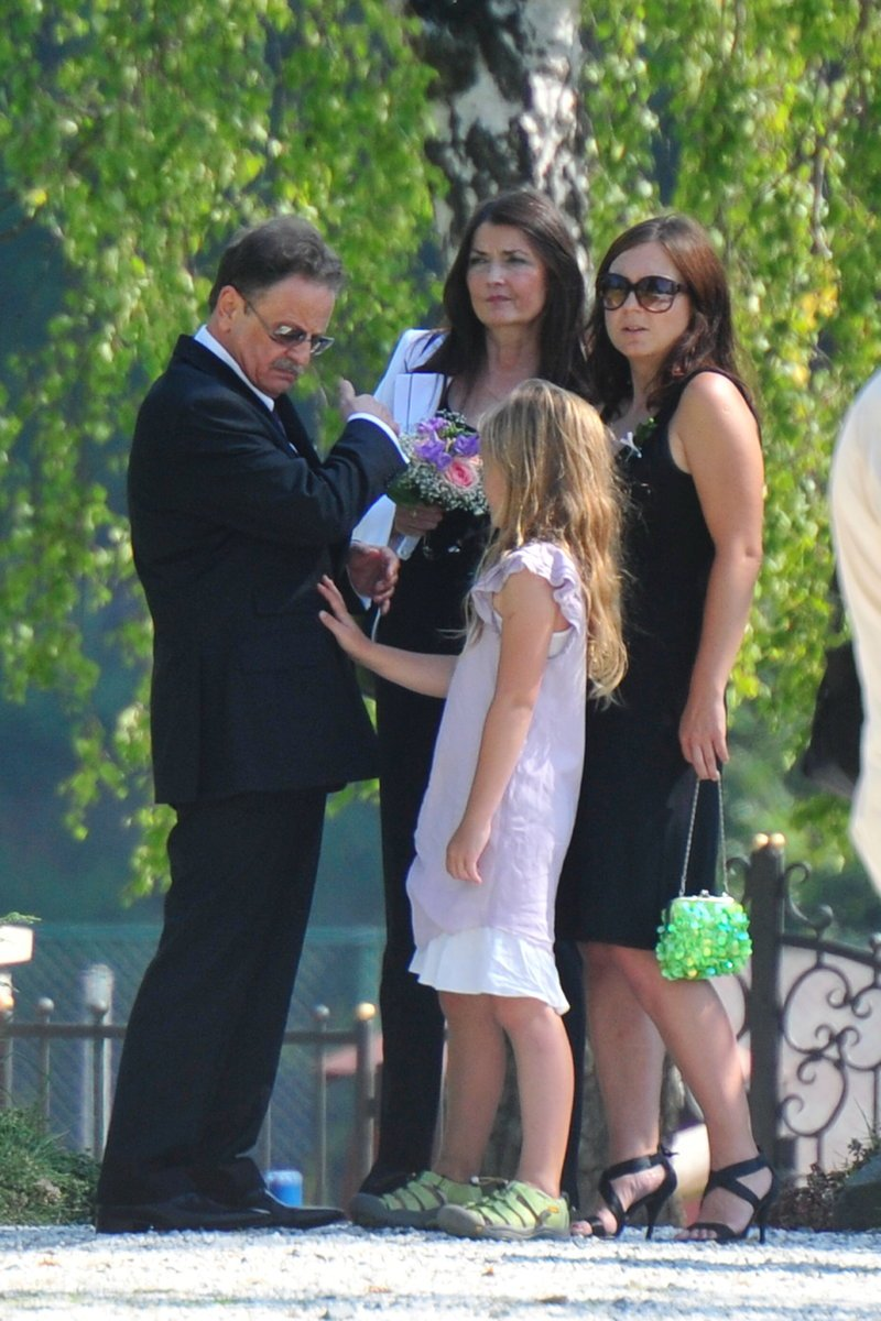 Rodiče nevěsty s Pavlínou Wolfovou