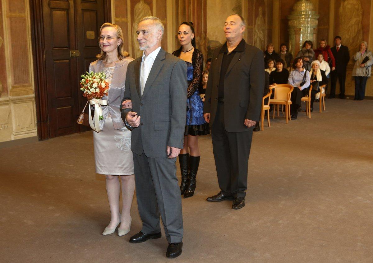 Jiří Vyskočil a Olga  23. 11. 2012