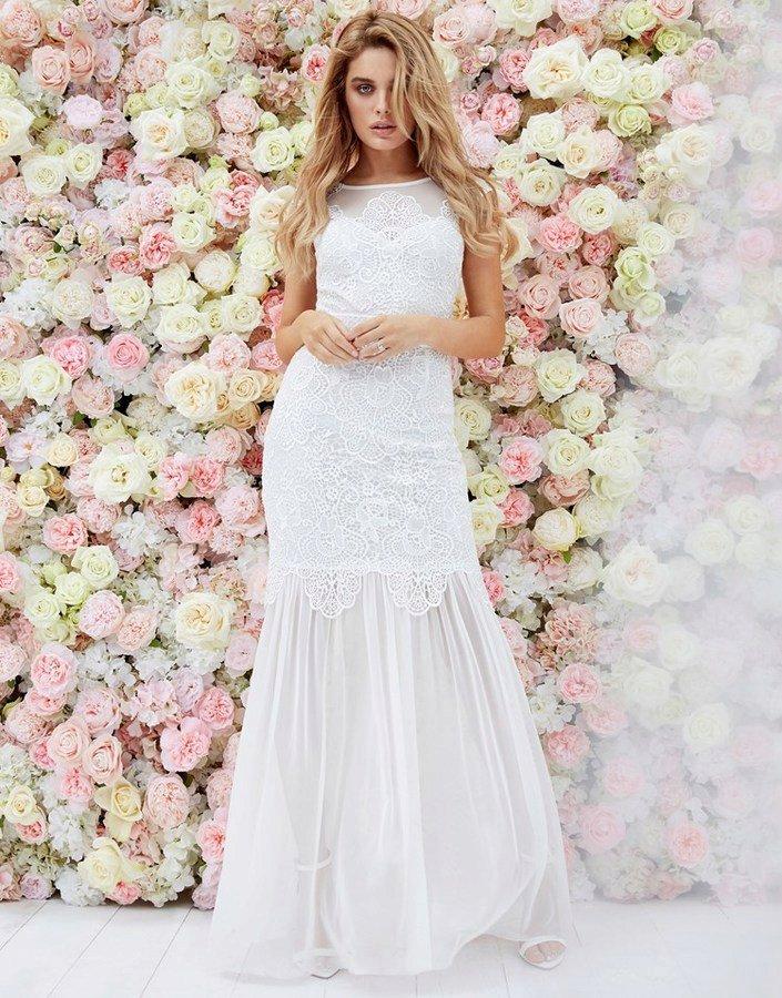 Svatební šaty, Lipsy, 200 GPB, www.lipsy.co.uk