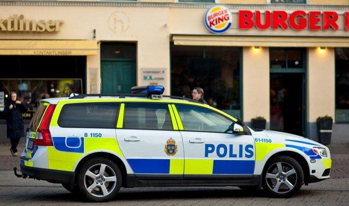 Švédská policie, ilustrační foto