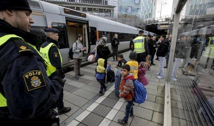 Švédsko zavedlo dočasné hraniční kontroly