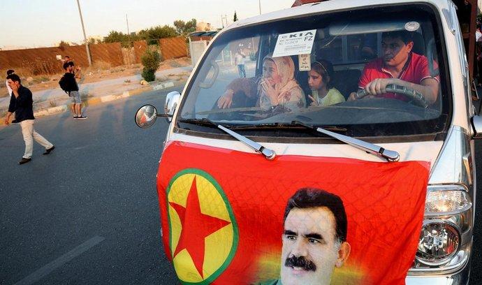 Sympatizanti s kurdskou stranou PKK