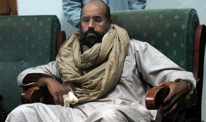 Syn bývalého libyjského vůdce Muammara Kaddáfího Sajf Islám