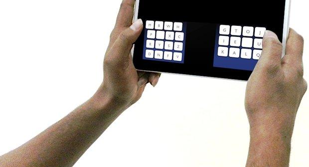 Lepší klávesnice pro dotykáče