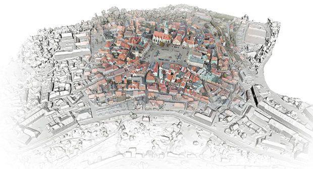 Tábor jako za husitů: Historické město ožilo ve 3D