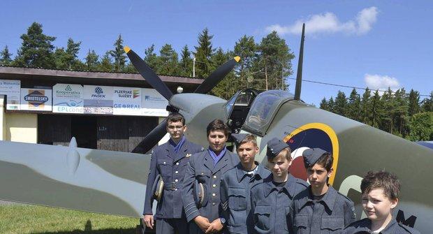 Tábor Na křídlech Spitfire