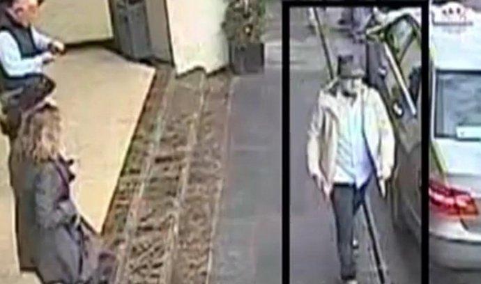 Tajemný muž v klobouku, který je podezřelý z březnových atentátů na bruselském letišti.