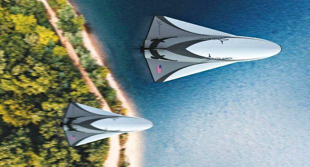 Nový hypersonický letoun zvládne létat dvakrát rychleji než střela ze samopalu