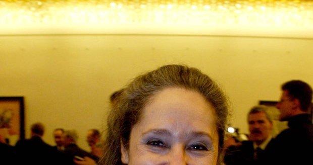 Táňa Fischerová se chce stát prezidentkou.