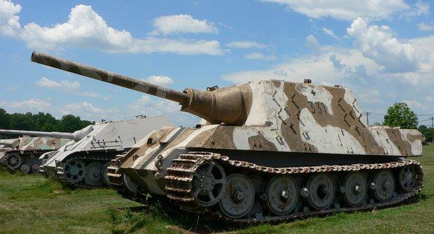 Německý stíhač tanků Jagdtiger: Největší z největších
