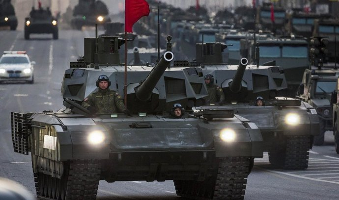 Tank T-14 Armata od firmy Uralvagonzavod