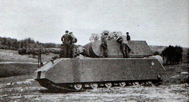 Německý tank Maus: Monstrum, které do bojů naštěstí nezasáhlo