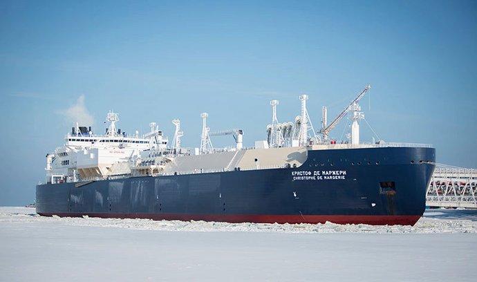 Tanker ruské společnosti Sovcomflot