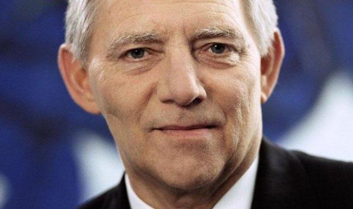 """""""Tato debata vysílá trhům úplně špatný signál,"""" řekl Schäuble."""