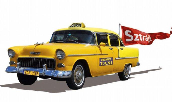 taxikáři v Budapešti