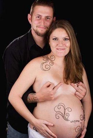 Nejhorší těhotenské fotografie všech dob