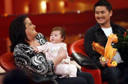 Na snímku z roku 2008 se svou ženou Nancy a dcerou Susan.