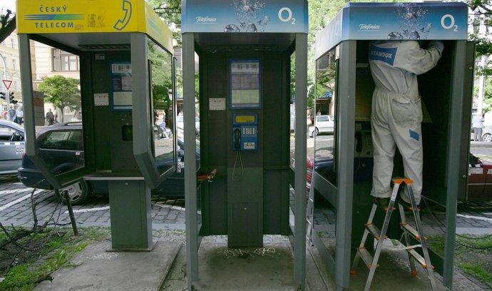 Telefonní budky - ilustrační foto