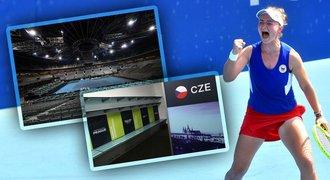 Billie Jean King Cup v Praze: šatny s Hradem, ale systém ničí českou sílu