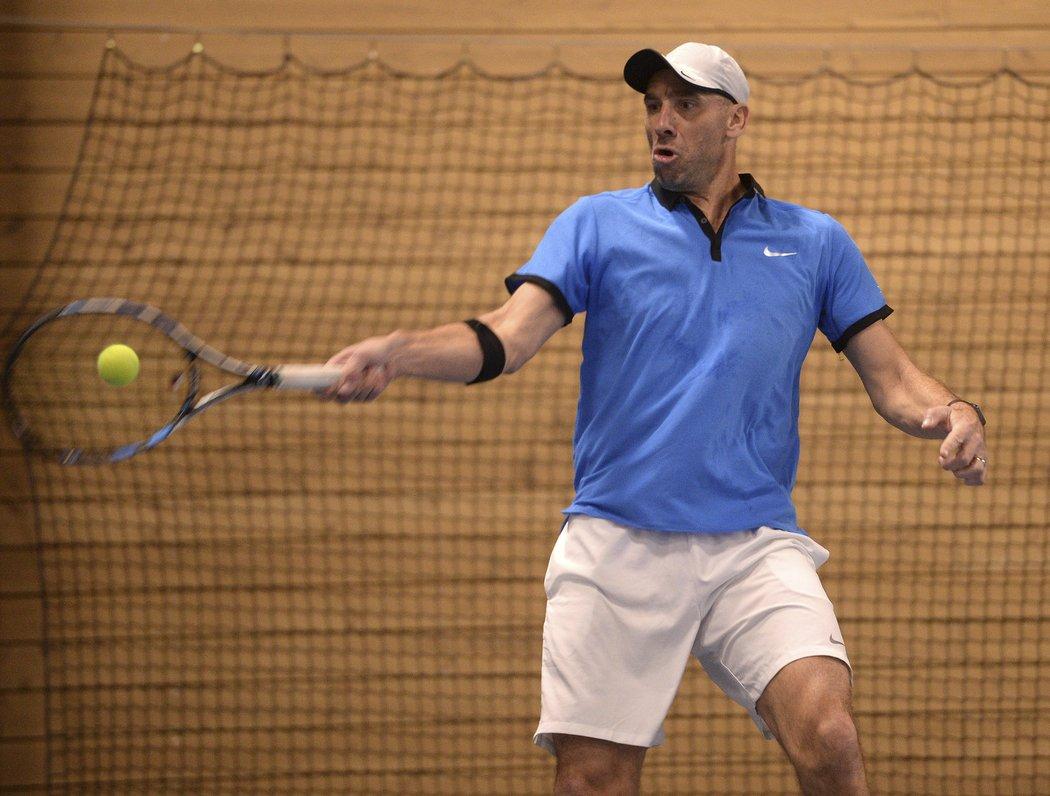 Exfotbalista Koller se zamiloval do tenisu.