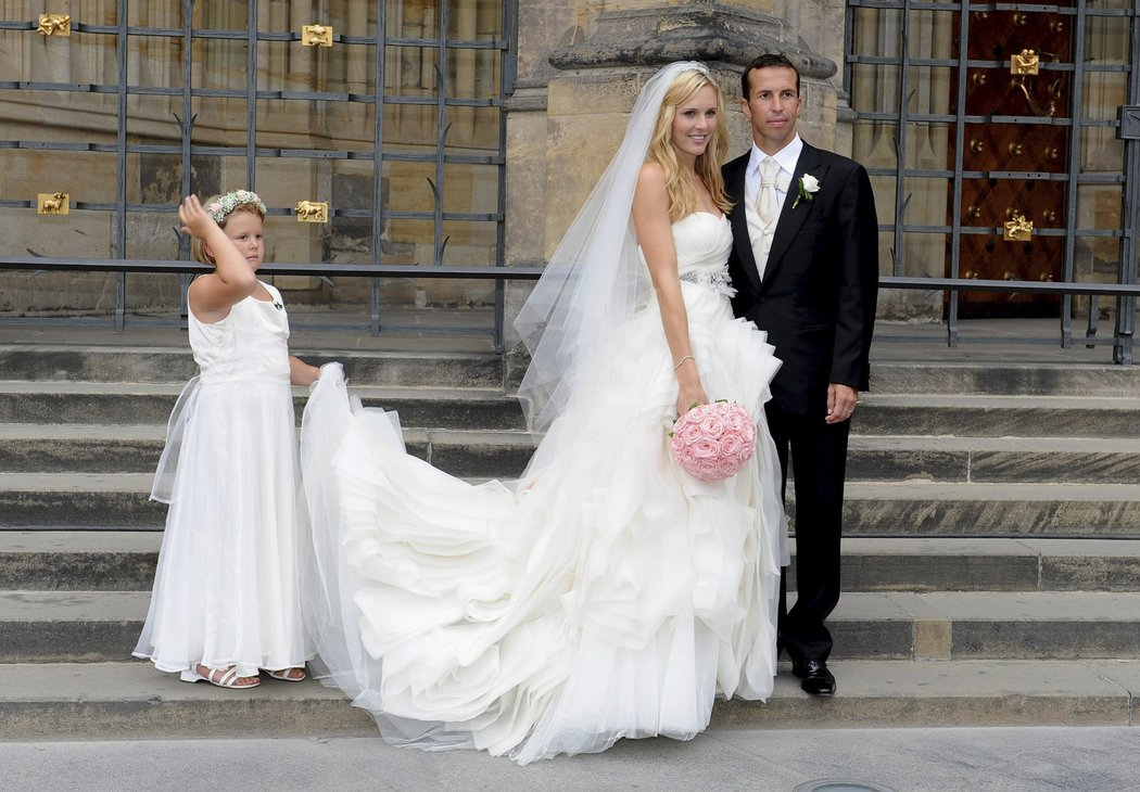 Vaidišová se Štěpánkem vydržela v manželství 3 roky.