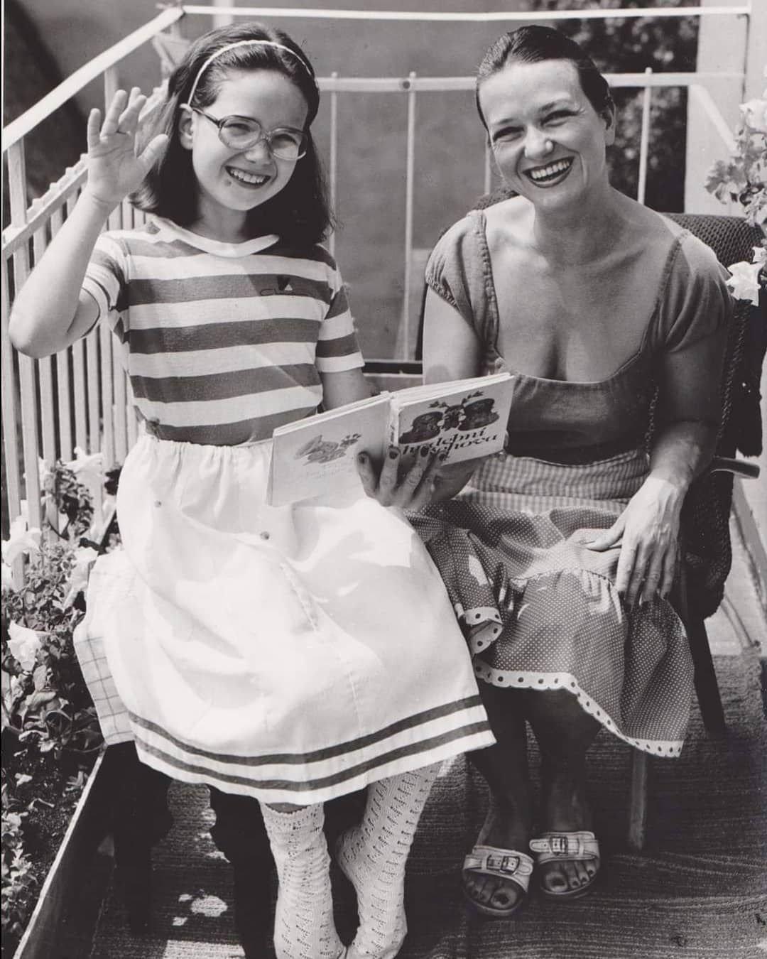 Carmen Mayerová s dcerou Terezou Kostkovou