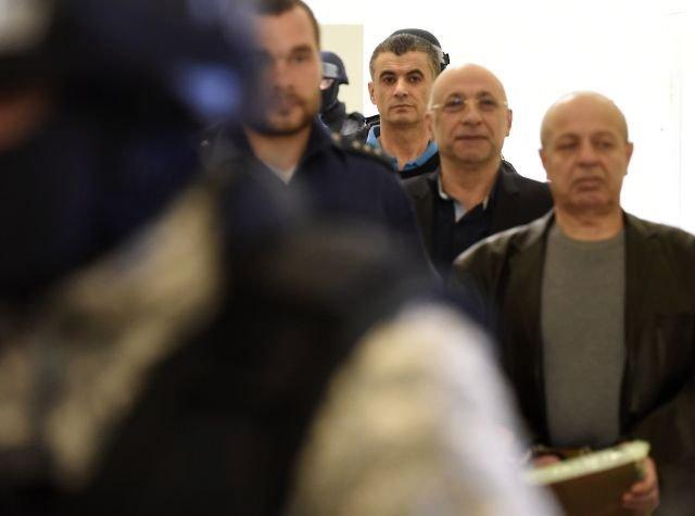 Alí Fajád, Faouzi Jaber a Chálid Marabí v soudní síni